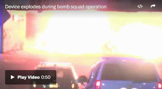 BOMBE A NY: NUOVA ESPLOSIONE – VIDEO