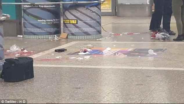 Germania: uomo accoltella 4 persone a stazione – FOTO – VIDEO