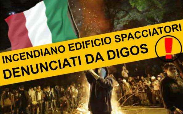 MILANO: DENUNCIATI 9 CITTADINI, DIEDERO FUOCO A EDIFICIO SPACCIATORI