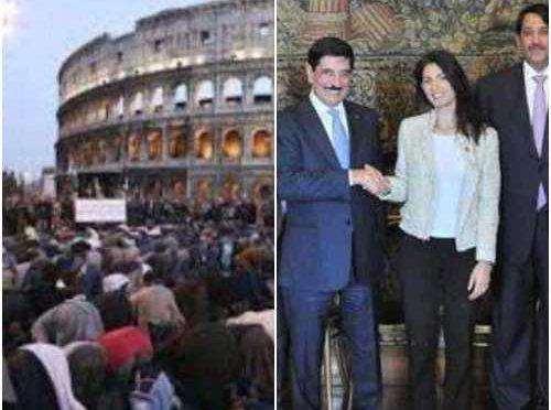 Raggi riceve Emiro Qatar, giorno dopo approvata nuova moschea per gli islamici