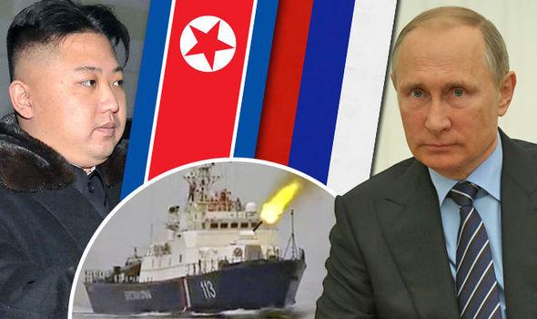 KIM ha provocato l'uomo sbagliato: nave russa spara e uccide Nordcoreano