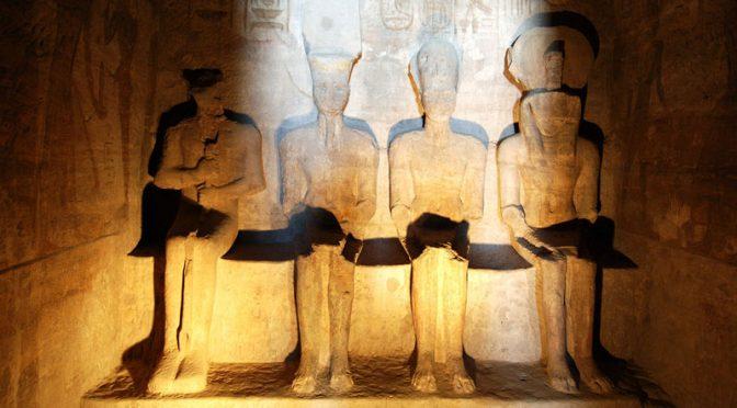 Egitto: anche quest'anno Ra ha illuminato suo figlio