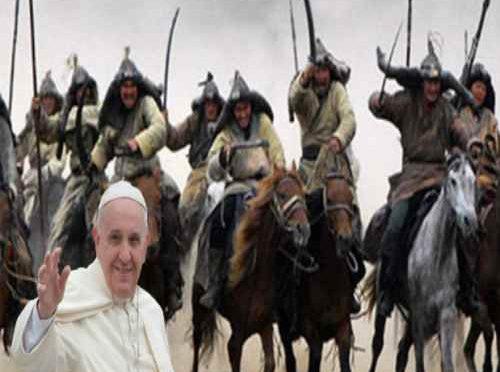 """Bergoglio: """"Immigrati hanno diritto ad essere accolti da voi"""""""