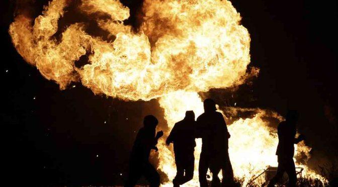 Non si ferma rivolta anti-profughi: cittadini incendiano centro accoglienza