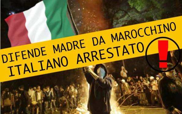 Marocchino ubriaco aggredisce sua madre, Italiano gli spara: arrestato
