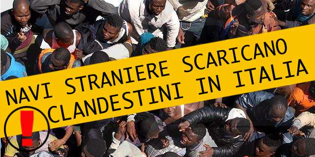 NAVE IRLANDESE RECUPERA 300 CLANDESTINI IN LIBIA: VIENE IN ITALIA