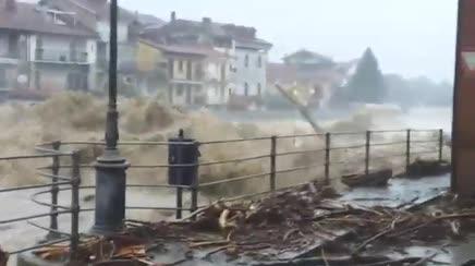 GARESSIO: IL PAESE PIU' DEVASTATO DALL'ALLUVIONE – TUTTI I VIDEO