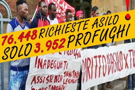 Rovigo: Niente carte identità a fancazzisti camuffati da profughi