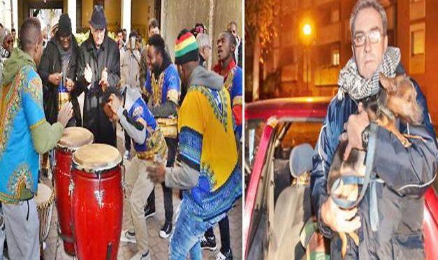 Sindaco a festa profughi africani, Massimo dorme in auto con figlia
