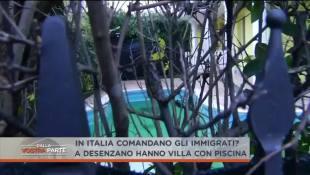 Profughi in lussuosa Villa con piscina sul Garda – VIDEO