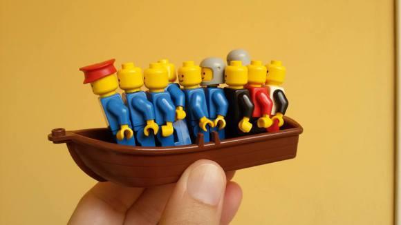 LEGO, LA MULTINAZIONALE DEI CLANDESTINI