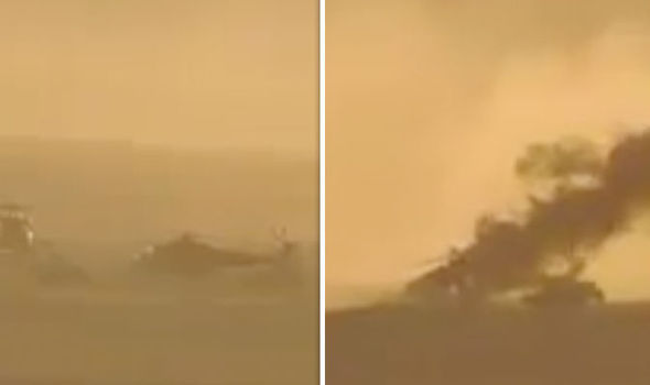 SIRIA: DRAMMATICA MISSIONE SALVATAGGIO ELICOTTERO RUSSO – VIDEO