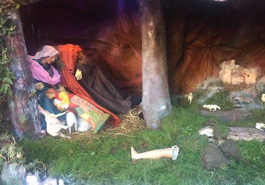 Parma: vandalizzato Presepe, statue decapitate e gettate a terra