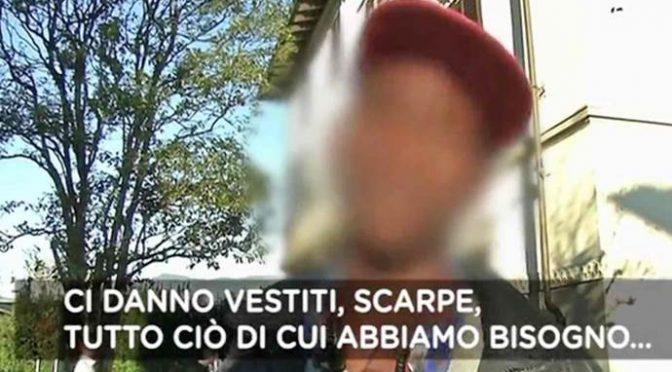 """Profugo: """"Governo italiano ci dà tutto, guarda che villa"""" – VIDEO"""