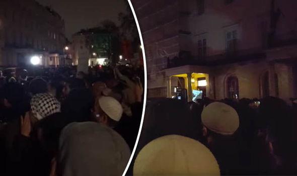 """MIGLIAIA ISLAMICI INVADONO LONDRA: """"VOGLIAMO IL CALIFFATO"""" – 3 VIDEO CHOC"""