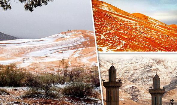 Nevica nel Sahara, prima volta dal '79 – FOTO