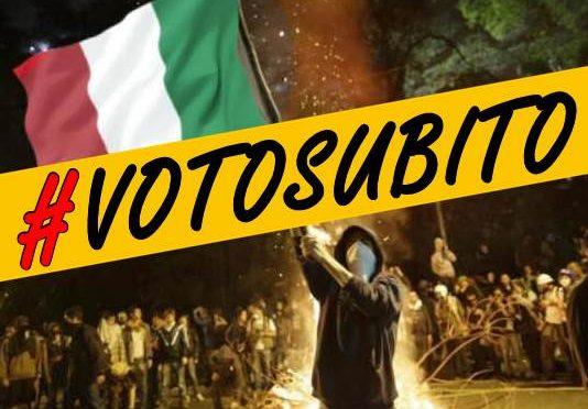 INIZIATIVA: SIT IN NAZIONALE #VOTOSUBITO