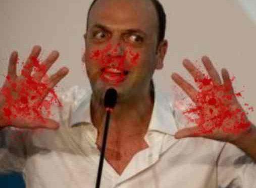 ALFANO HA LE MANI SPORCHE DI SANGUE: perché ha finto di espellere terrorista?