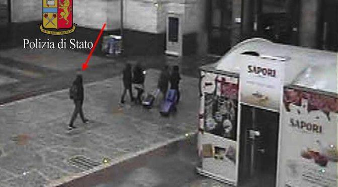 AMRI: PROFUGO TERRORISTA E' STATO A MILANO – FOTO
