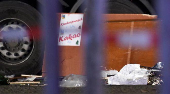 *CAMION BERLINO: ARRESTATO E' UN ISLAMICO CECENO O PAKISTANO*