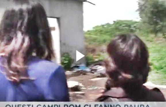 STUPRATA IN CAMPO NOMADI, BARACCHE ANCORA LI' – VIDEO