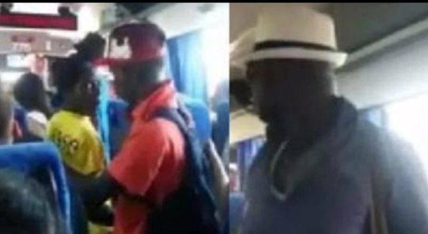 Profughi rifiutano di pagare biglietto: «Tu controllore sei solo Italiano» – VIDEO