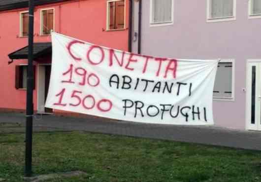 L'annuncio, Salvini chiude il mega centro profughi di Conetta