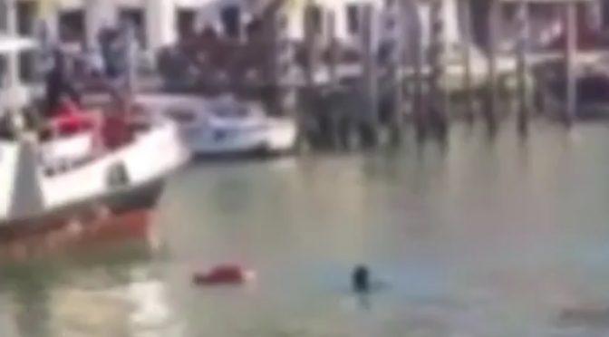 Venezia, Africano suicida nel Canal Grande: colpa dei 'razzisti' secondo i fanatici – VIDEO