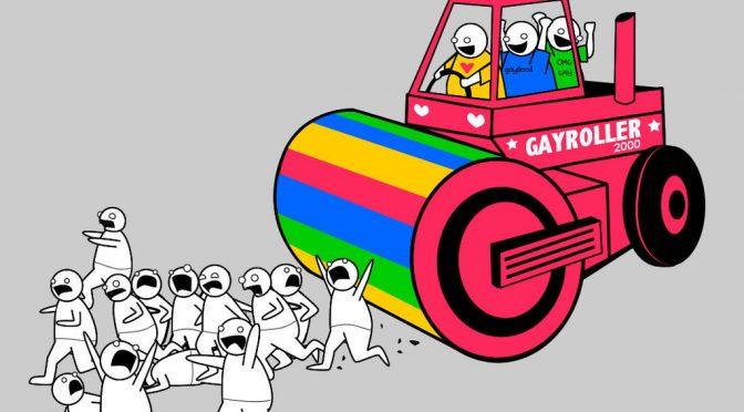 Lobby gay invitano a molestare Fontana su facebook