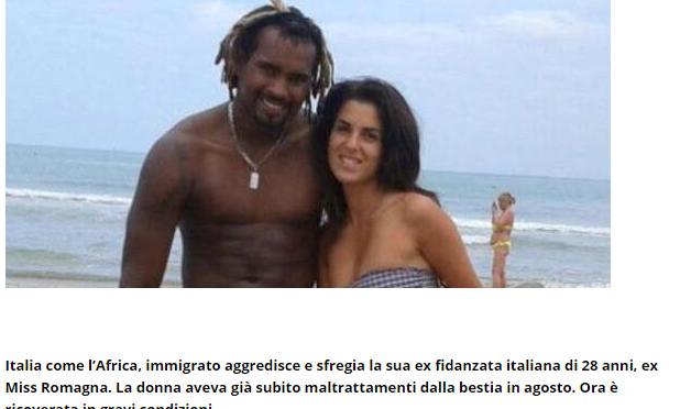 Gessica Notaro, 15 anni all'ex fidanzato nero