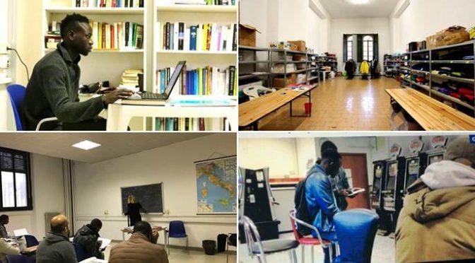 Milano: per i profughi sala relax e corsi di pilates – VIDEO