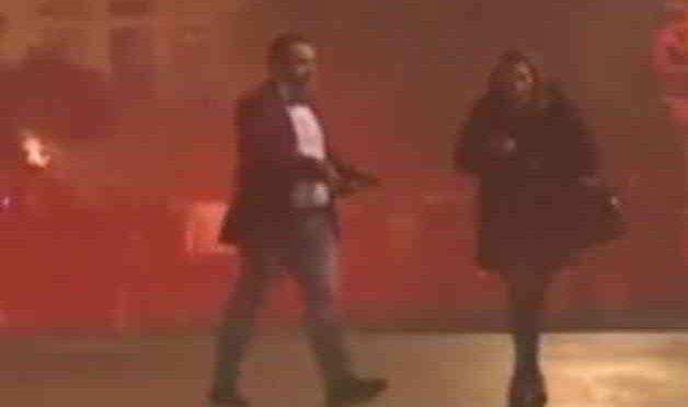 Capodanno: uomo armato spara in aria per festeggiare – VIDEO