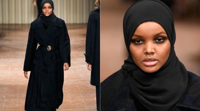 Milano Fashion Week Dopo Il Trans Sfila L Inquietante Modella Col Velo Islamico V X