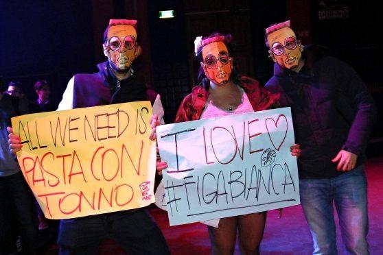 Capodanno con Bello Figo a Vicenza: proteste