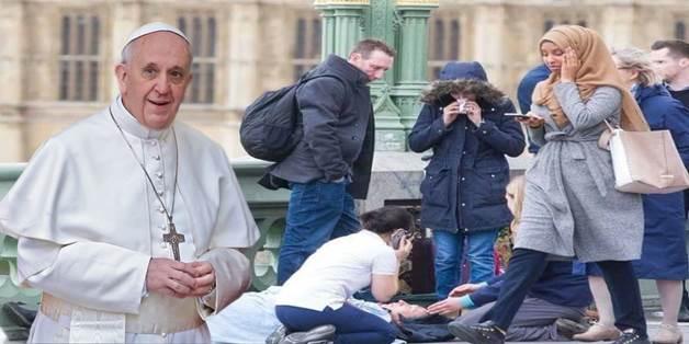 """Bergoglio invoca la dissoluzione etnica: """"Via i confini, siate multietnici"""""""