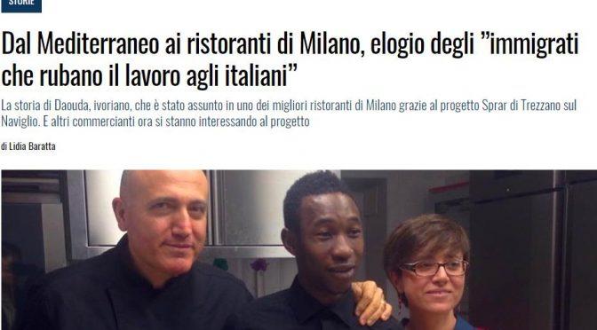 Milano: ecco i ristoranti che assumono profughi al posto di giovani italiani