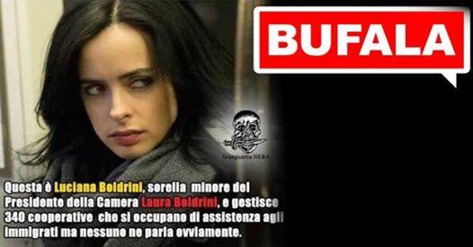 Bufale: stavolta Boldrini ha ragione e diffondere notizie false fa il suo gioco