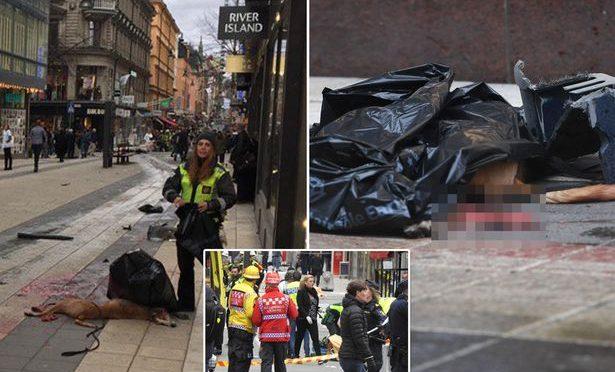Stoccolma: una bimba, 3 uomini e un cane tra le vittime del terrorista profugo – FOTO