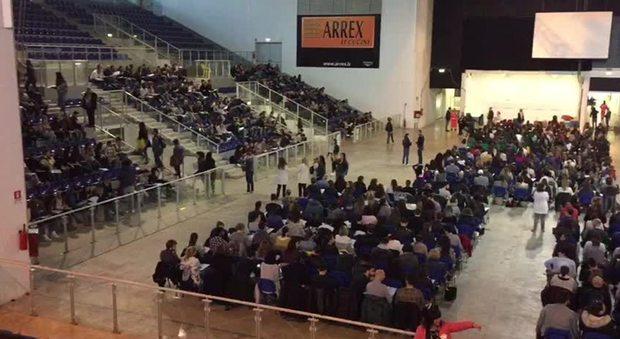 Concorso allo stadio: in 7mila per 30 posti da infermiere