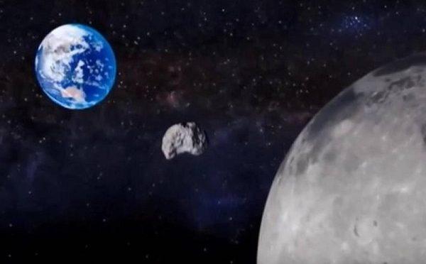 Asteroide verso la Terra, passaggio più vicino Luna alle 22:18