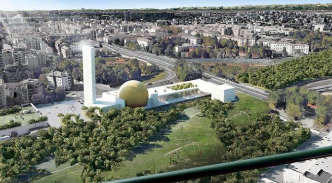Il futuro di Milano secondo Sala: enorme moschea con minareto – PROGETTO CHOC