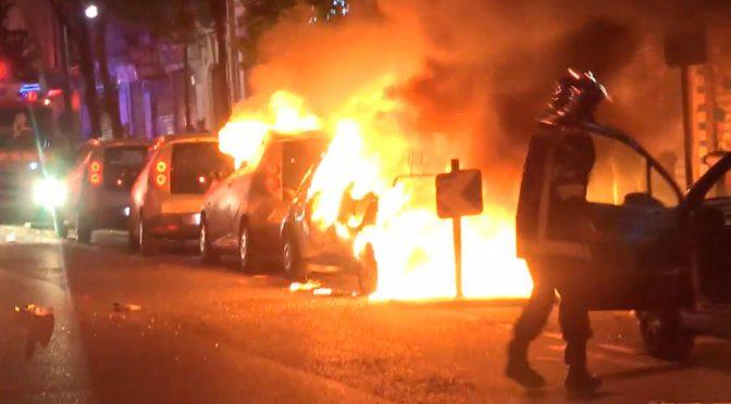 Afroislamici vandalizzano gli Champs-Elyseess – VIDEO