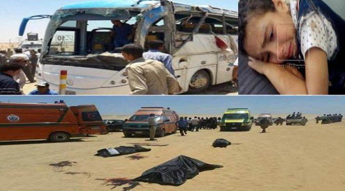 Islamici attaccano bus di cristiani: strage in Egitto