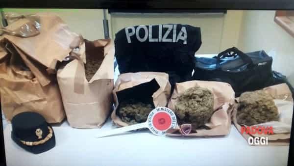 Profughi beccati con sette chili (7 KG!) a Padova