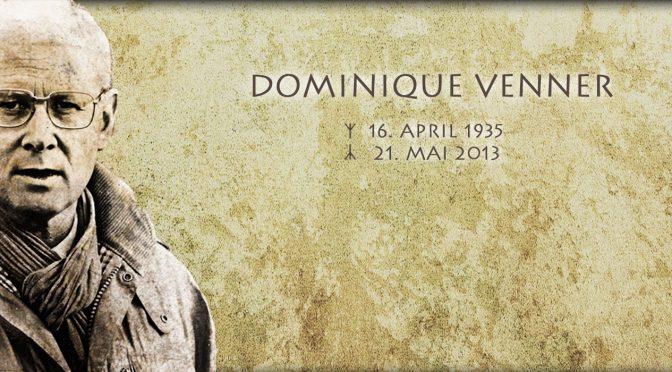 Dominique Venner, l'uomo che nacque quattro anni fa
