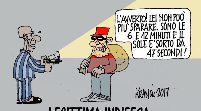 """""""Pronto carabinieri? Se non venite uccido i ladri rom"""", e loro le sequestrano armi"""
