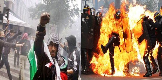 Rivolta islamica si allarga in Francia: bus assaltati