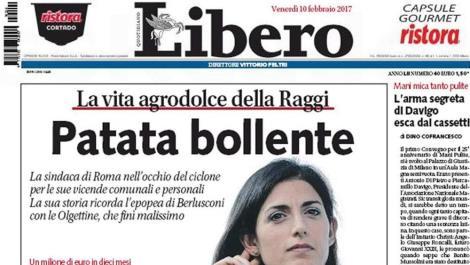 La Patata Bollente costa a Feltri 11mila euro di multa: Raggi gode