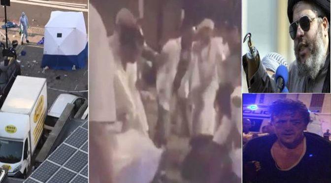 GUERRA SANTA A LONDRA: UOMO ATTACCA MOSCHEA DELL'IMAM TERRORISTA – VIDEO