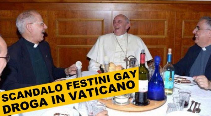 Festini gay e droga in Vaticano, con i soldi dell'8 per mille: arrestato monsignore